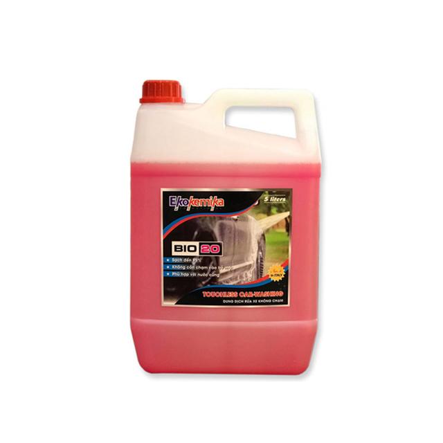 Dung dịch rửa xe không chạm Ekokemika BIO 20 – can 5L