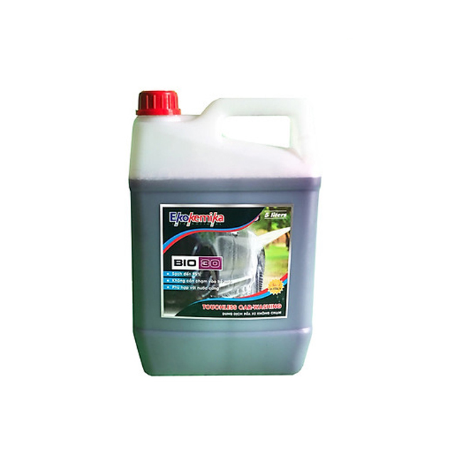 Dung dịch rửa xe không chạm Ekokemika BIO 30 – can 5L