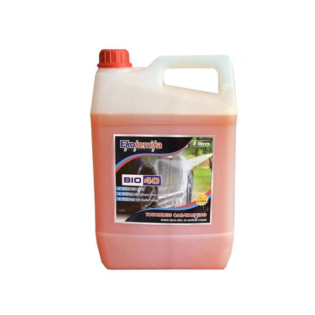 Dung dịch rửa xe không chạm Ekokemika BIO 40 – can 5L