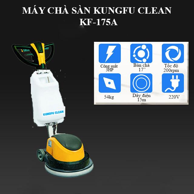 Model chà sàn công nghiệp Kungfu Clean KF-175