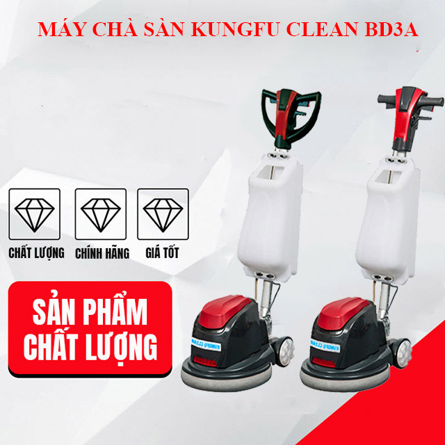 Máy chà sàn Kungfu Clean BD3A