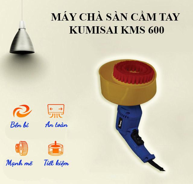 Máy chà sàn cầm tay Kumisai KMS-600