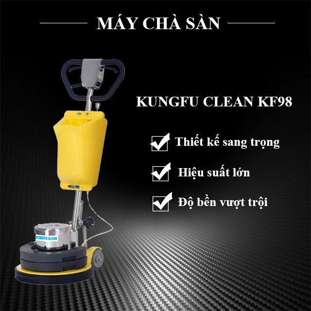 Thiết bị chà sàn công nghiệp kungfu Clean KF98
