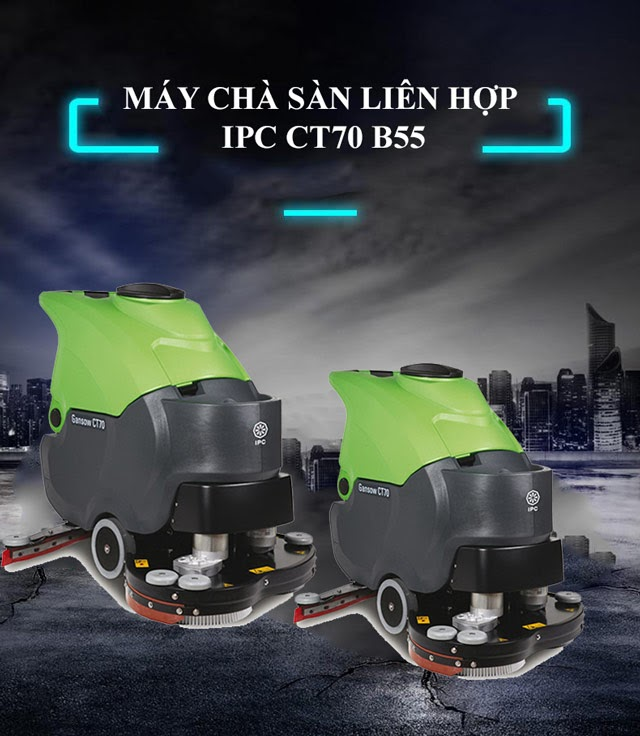 Model chà sàn IPC CT70 B55
