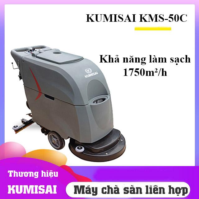 Máy chà sàn liên hợp Kumisai KMS-50C - Sự lựa chọn số 1 của doanh nghiệp