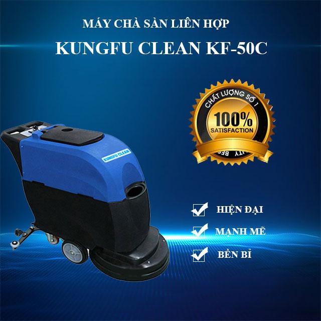Model chà sàn liên hợp Kungfu Clean KF-50C