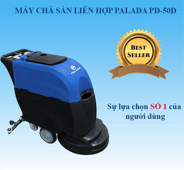 Model chà sàn liên hợp Palada PD-50D