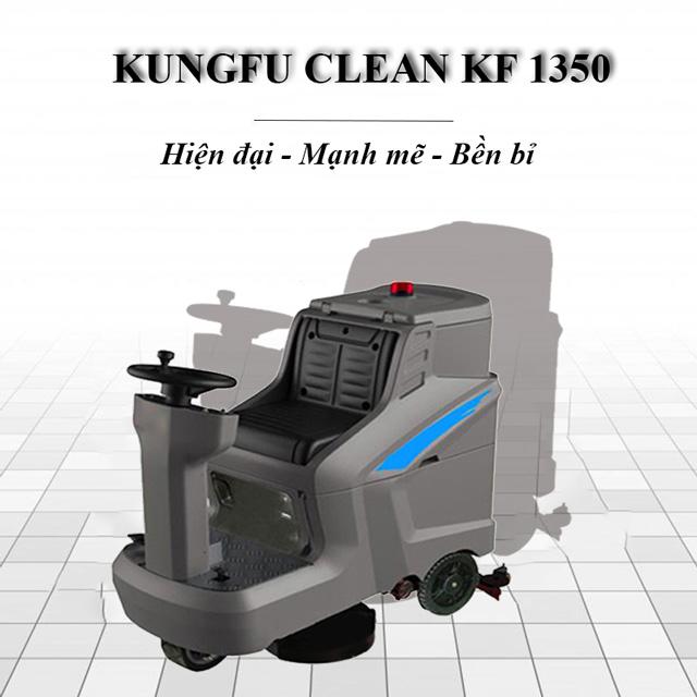Model chà sàn ngồi lái Kungfu Clean KF-1350