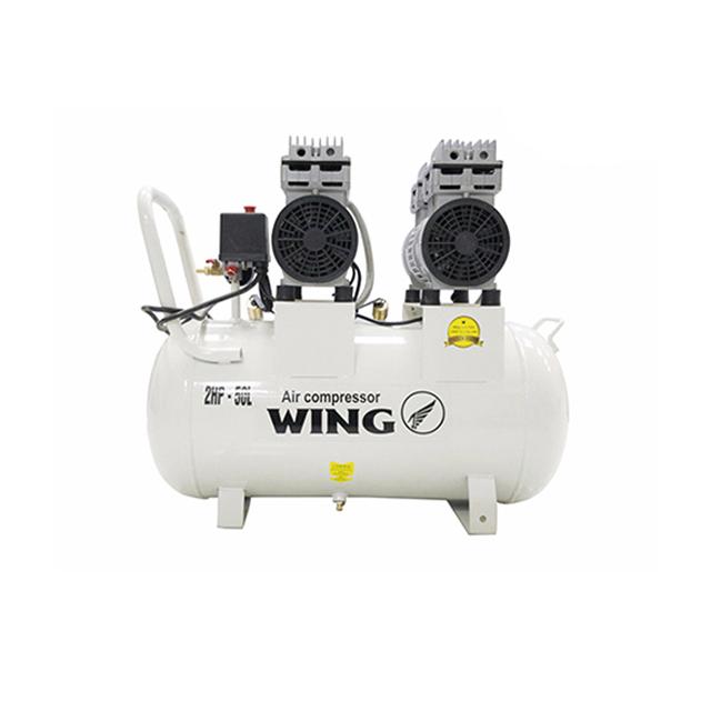 Máy nén khí không dầu giảm âm Wing TW-OF550X2-50L