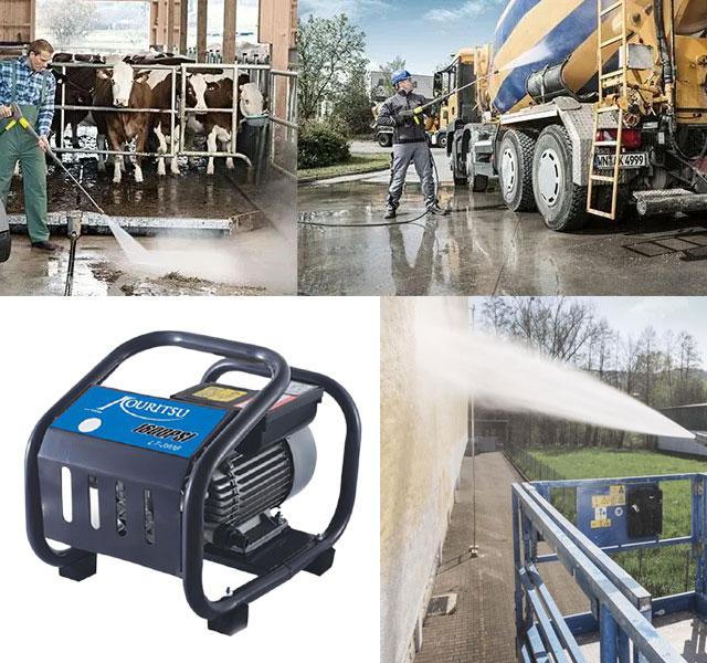 Chức năng của máy bơm rửa xe Kouritsu LT390B