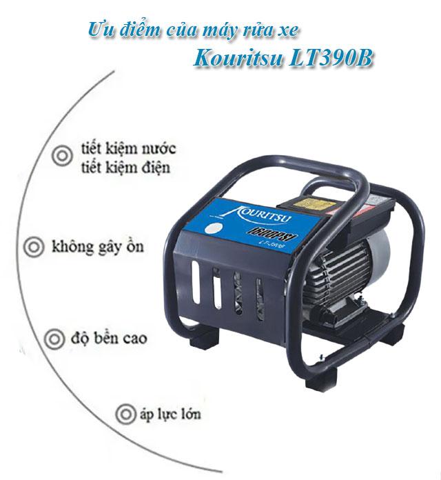 máy rửa xe máy xịt rửa xe Kouritsu LT390B