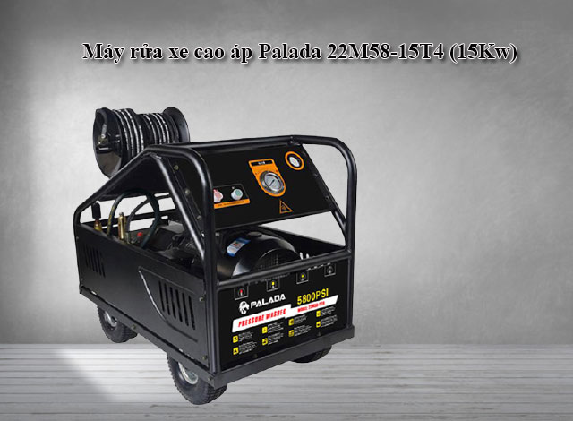 Máy rửa xe cong nghiêp Palada 22M58-15T4 (15Kw)