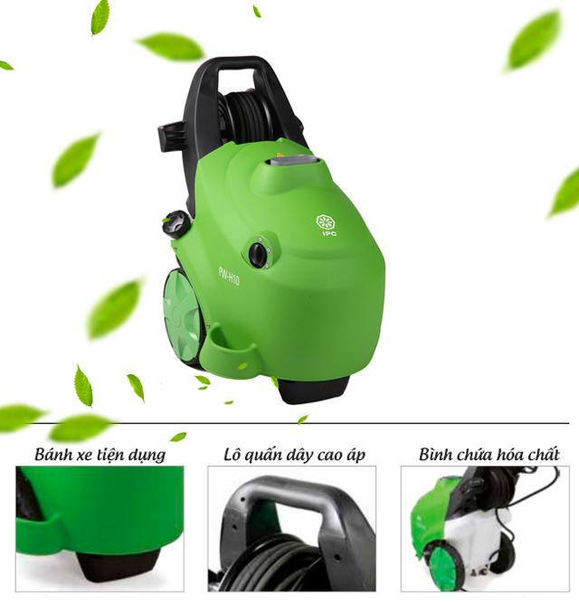 Máy xịt rửa xe nước nóng IPC PW-H10P I1408AO M