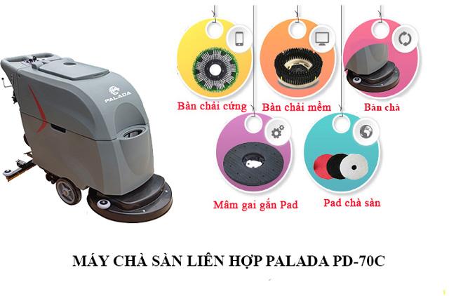 Hướng dẫn bảo quản, vệ sinh máy chà sàn liên hợp Palada