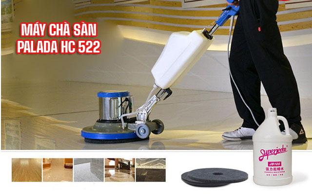Cách vận hành, sử dụng máy chà sàn Palada HC522