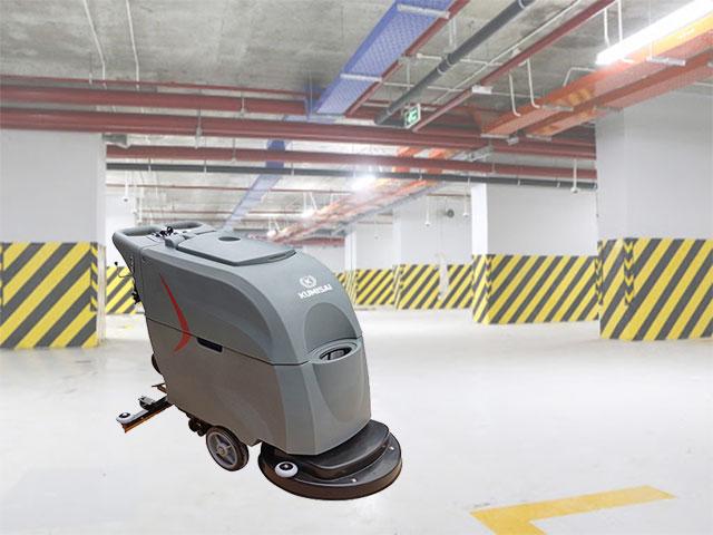 Các bước vận hành máy chà sàn liên hợp
