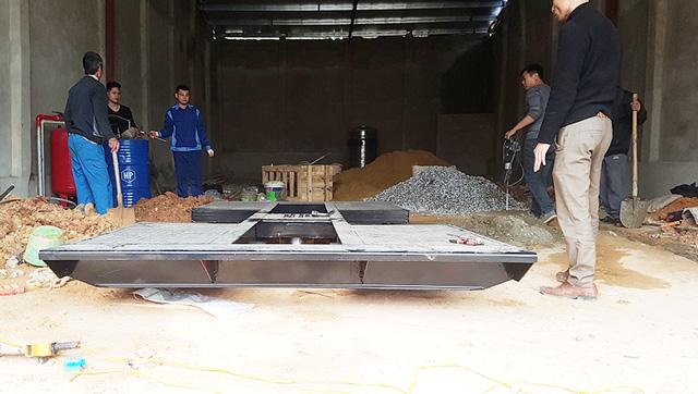 Cầu nâng 1 trụ rửa xe Senok PU04