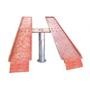 Cầu nâng ô tô 1 trụ bàn nổi