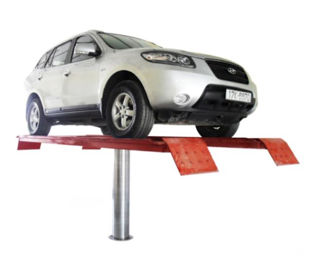 Cầu nâng rửa xe 1 trụ V-Jet 4.0