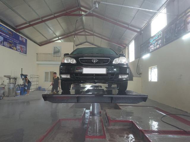 Cầu nâng rửa xe Senok PU04
