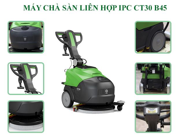 IPC CT30 B45 - Thiết kế đơn giản, vận hành êm ái