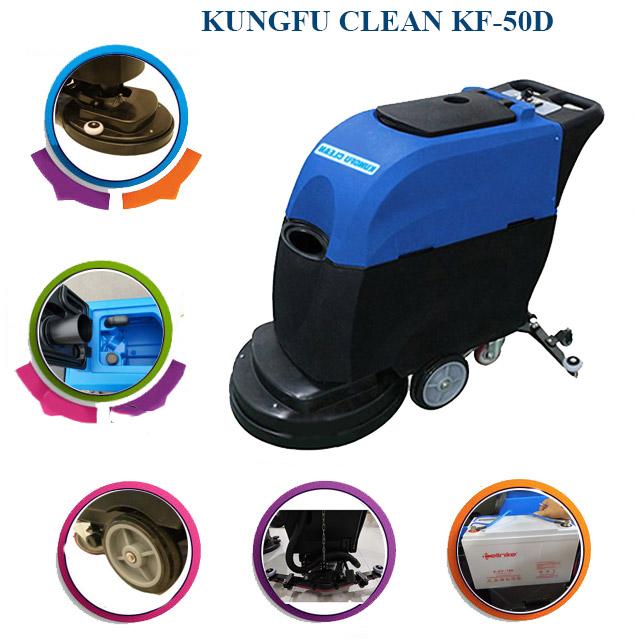 Cấu tạo model chà sàn liên hợp Kungfu Clean KF-50D