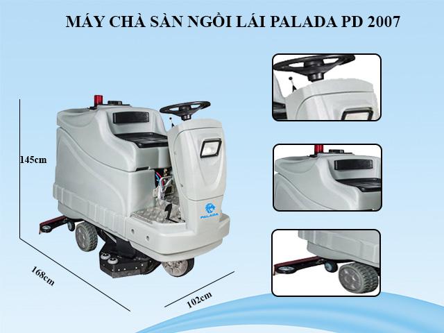 Palada PD-2007 - Thiết kế hiện đại, vận hành đơn giản
