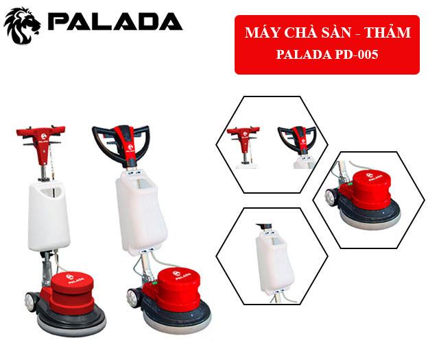 Palada PD-005 - Thiết kế hiện đại, cấu tạo đơn giản