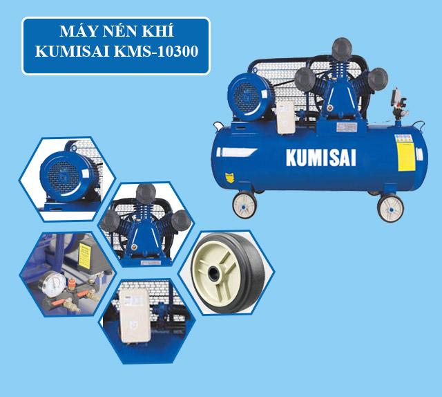 Cấu tạo model nén khí Kumisai KMS-10300
