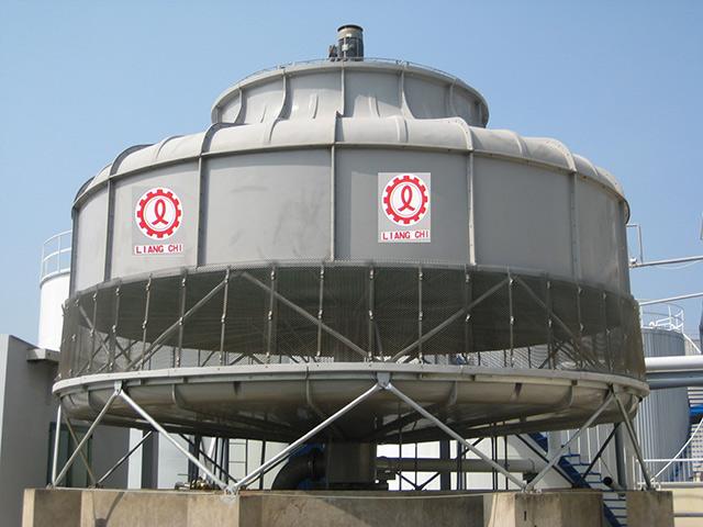 Tháp giải nhiệt có dạng tròn