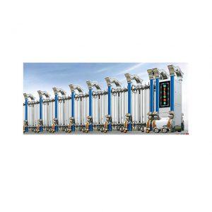 Cổng xếp inox nhập khẩu TC-J8907