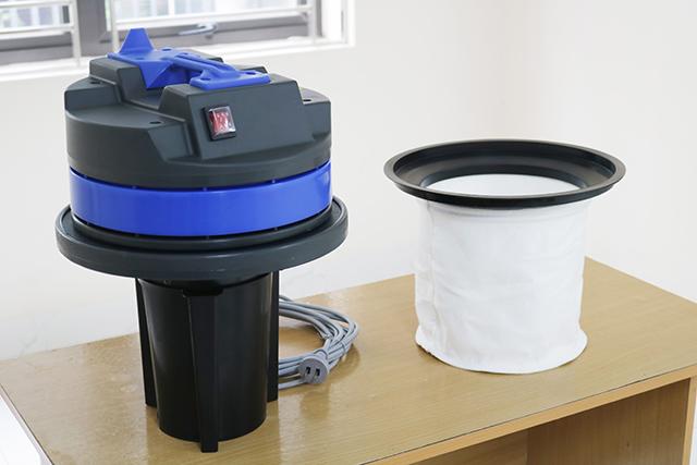 Đầu máy và túi lọc bụi được thiết kế tối ưu