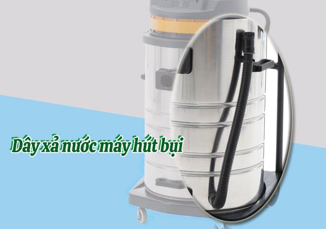 Dây xả nước máy hút bụi