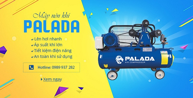 Hoàng Liên là đơn vị cung cấp độc quyền máy nén khí Palada