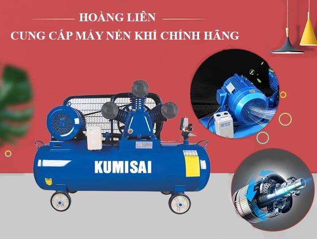 Hoàng Liên - Địa chỉ cung cấp máy nén hơi Kumisai chính hãng