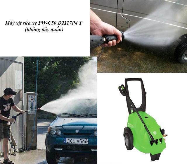 máy xịt rửa xe PW-C50 D2117P4 T (không dây quấn)