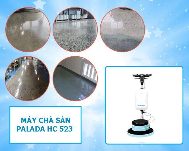 Palada HC523 có khả năng làm sạch vượt trội