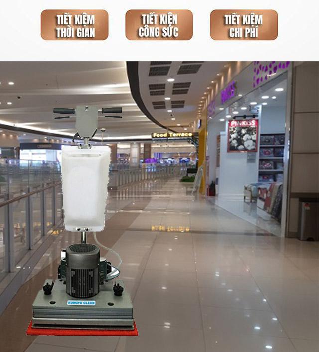 Lợi ích tuyệt vời khi sử dụng thiết bị chà sàn Kungfu Clean
