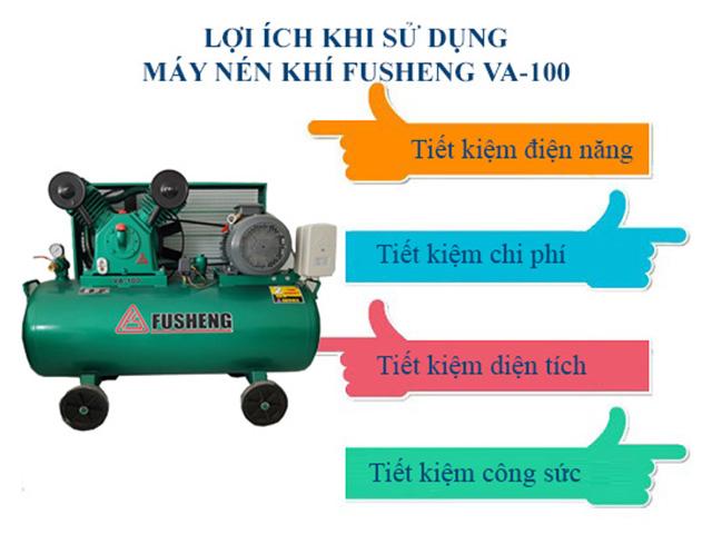 Lợi ích khi sử dụng thiết bị nén khí Fusheng