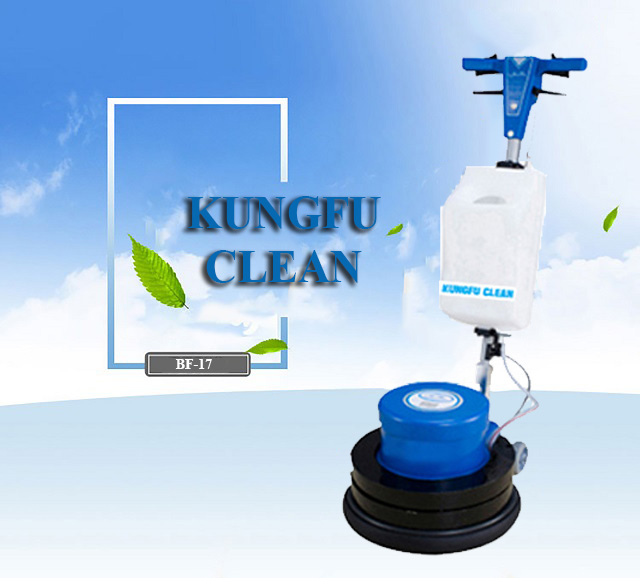 Điều cần biết khi sử dụng thiết bị chà sàn Kungfu Clean
