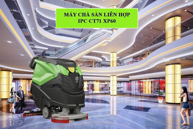 Lưu ý khi sử dụng thiết bị chà sàn IPC CT71 XP60