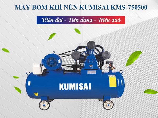 Máy bơm khí nén Kumisai KMS-750500 - Sự lựa chọn số 1 của người dùng