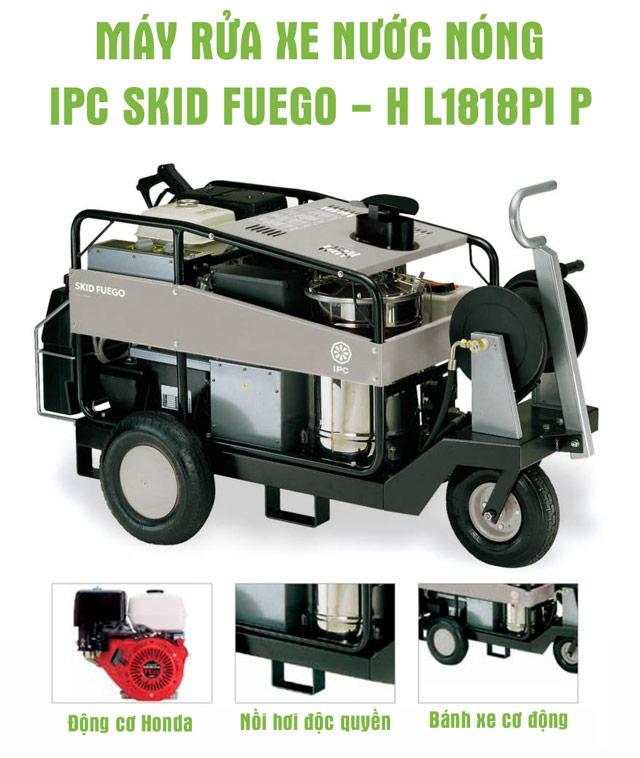 Máy bơm rửa xe IPC SKID FUEGO – H L1818PI P (Động cơ dầu)