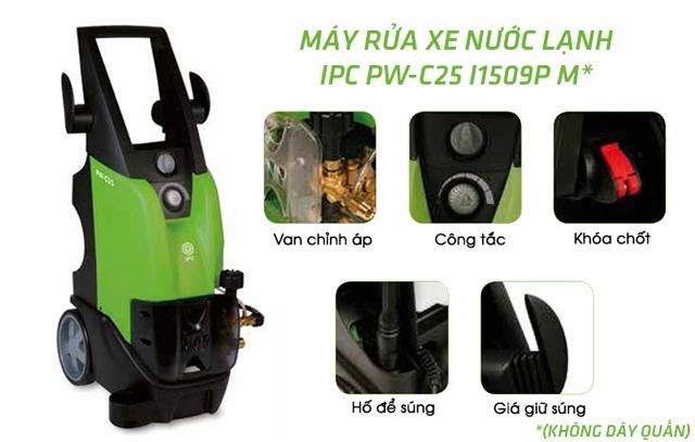 Máy bơm rửa xe nước lạnh IPC PW-C25 I1509P M