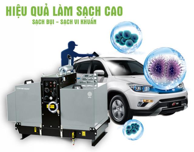 Máy bơm rửa xe nước nóng IPC V200 MD SIL-H 2015 PiD (Động cơ Diesel)