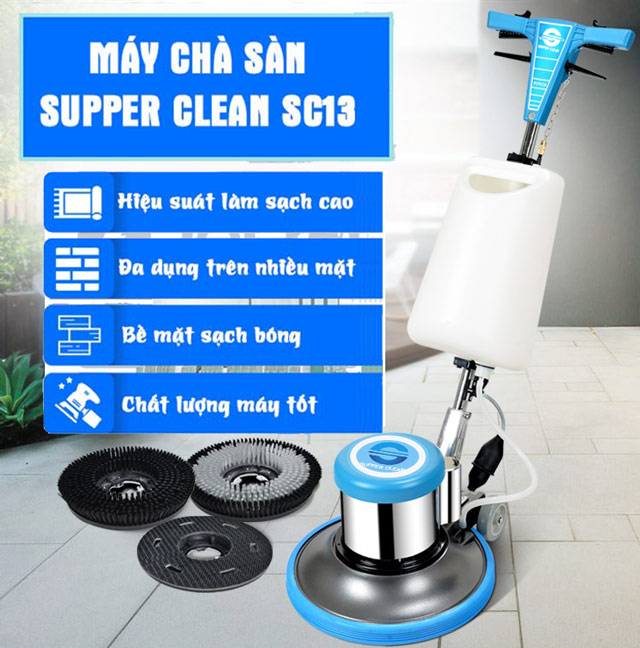 máy chà sàn Supper Clean SC13