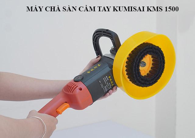 Máy chà sàn cầm tay Kumisai KMS-1500