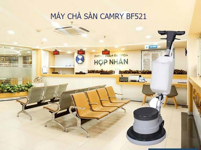 Lưu ý khi sử dụng máy chà sàn Camry BF521