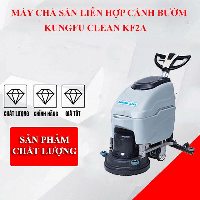 Model chà sàn liên hợp cánh bướm Kungfu Clean KF2A