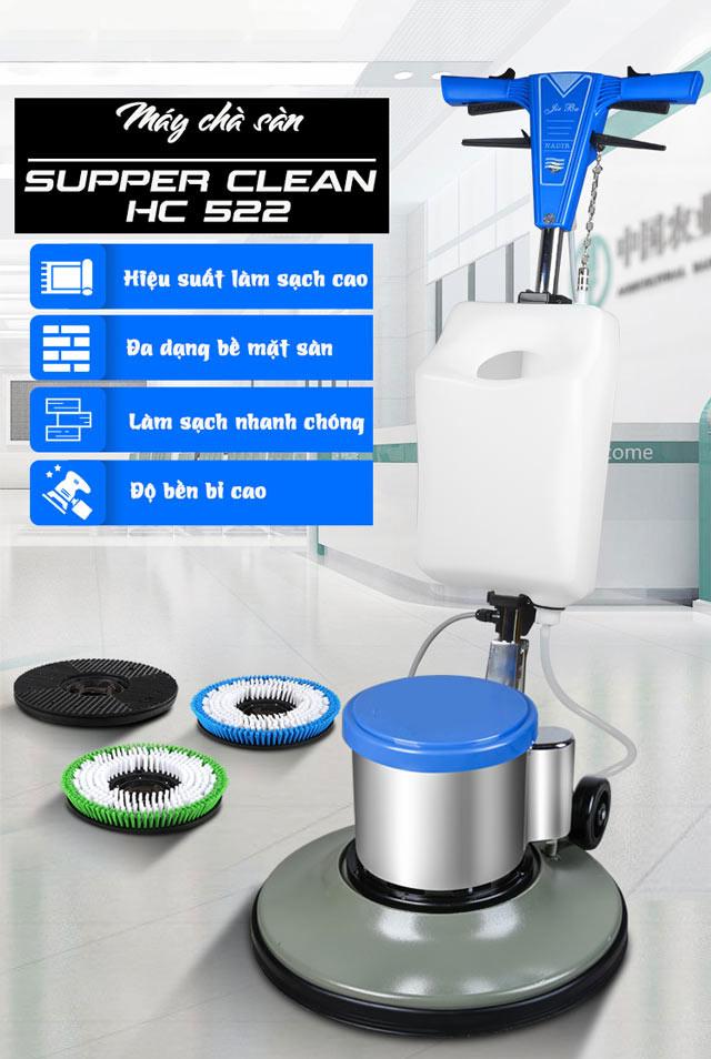 máy chà sàn công nghiệp Supper Clean HC 522 1